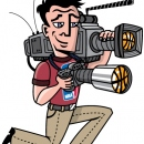 NBA Camera Crew Mascot, Client: NBA