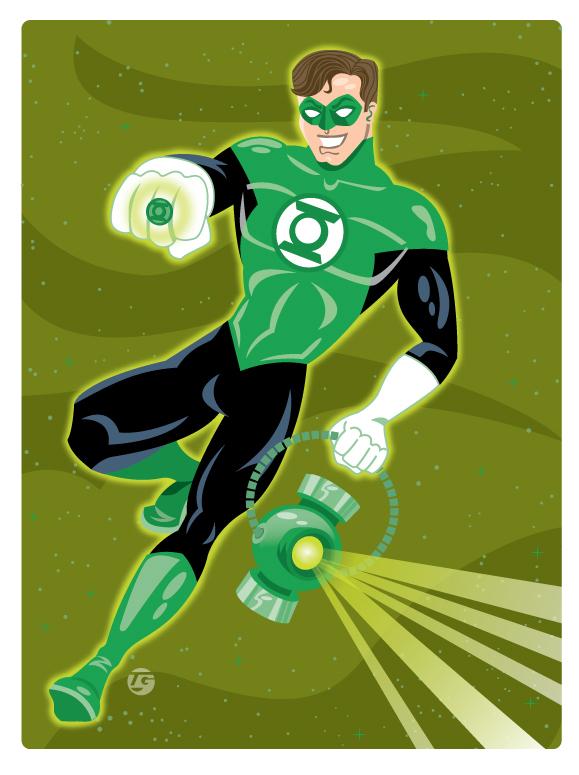 Green Lantern, Personal Work