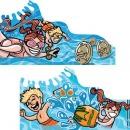 Pool Toy packaging concepts, Client: Indenpendant Designer