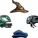 Famous Hat Icons, Client: Disney Adventures Magazine