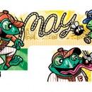 Frogs Vs. Toads, Clients: Disney Adventures Magazine