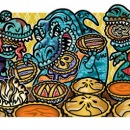Dinosaur Pie Eating Contest, Clients: Disney Adventures Magazine