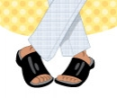 Ask Teri Column-Men's Sandals, Client: The Wall Street Journal