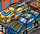 June Nascar Race, Clients: Disney Adventures Magazine
