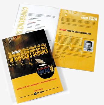 Teaching Respect for All-Brochure, Client: GLSEN