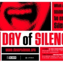 Day of Silence Poster layout and image, Client: GLSEN
