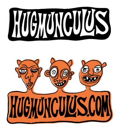 Hugmunculus Logo, Client Heather Hug