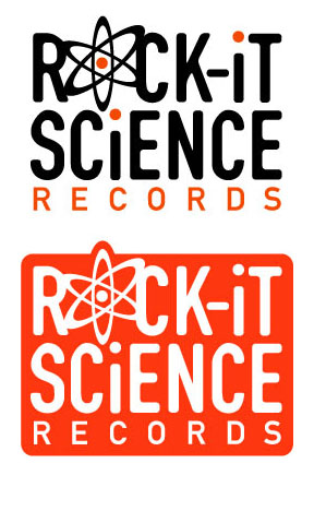 Rock-it Science Records Logo Design, Client: Rocket Science Records