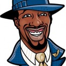 Gilbert Arenas Illustration, Client: NBA