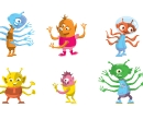 Counting Art-Multi-armed Aliens, CLIENT: Sylvan Learning