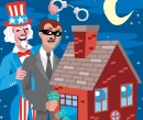 Banker Stealing from a Home, CLIENT: Wall Street Journal