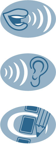 Speak and Listen Icons, Client: Sylvan Learning