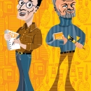Tony Kushner and Maurice Sendak, Client: Time Out New York Kids