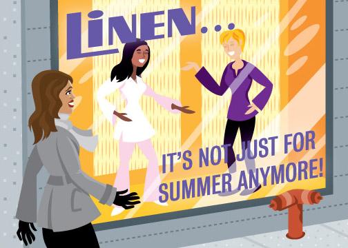 Ask Teri Column-Linen in the Spring