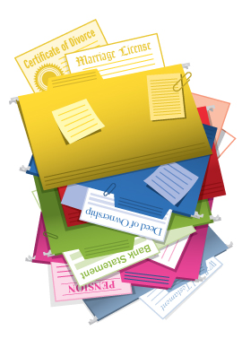 Folders and Important Documents, CLIENT: Wall Street Journal
