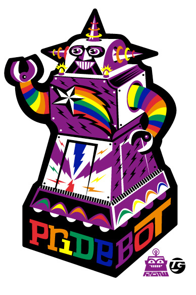 Happy Pride from Pridebot 2010