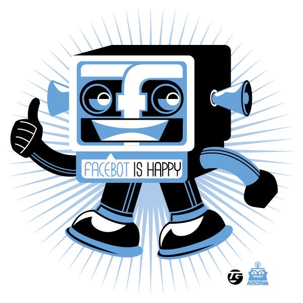 robot of the week facebot