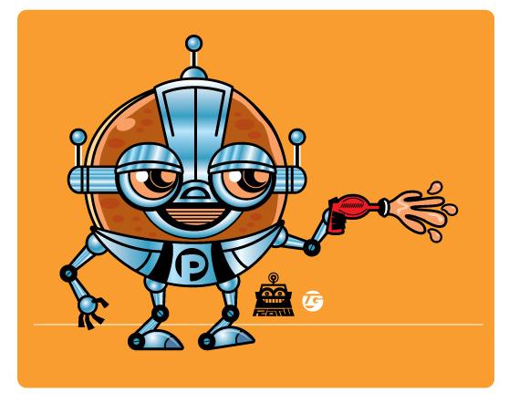 Pancake PowerBot