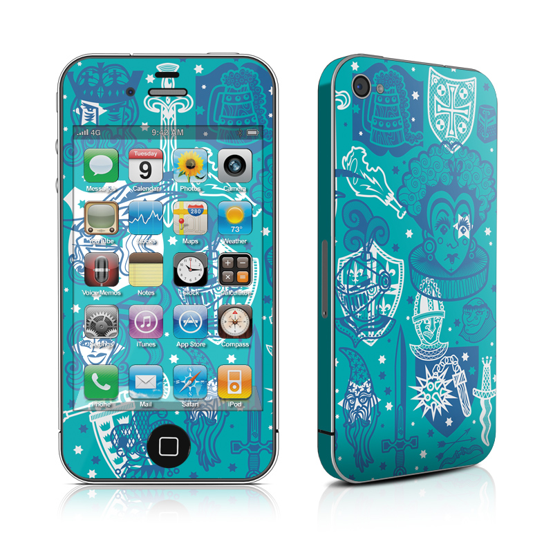 medieval_iphone_4_4g_skin_matte_finish